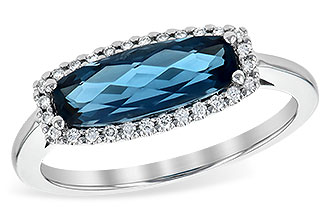 D199-23172: LDS RG 1.79 LONDON BLUE TOPAZ 1.90 TGW